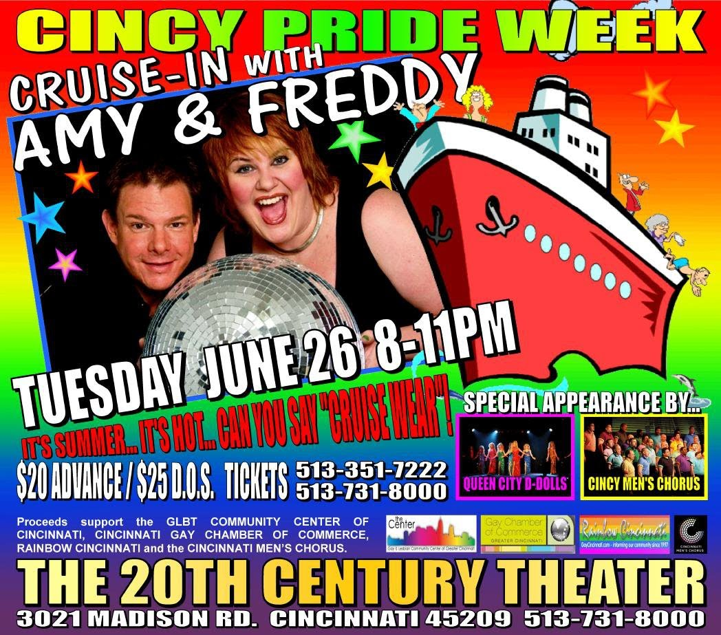 ... spirit and support the Gay Chamber, Men's Chorus, Rainbow Cincinnati and ...