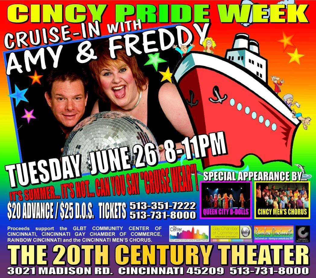 ... spirit and support the Gay Chamber, Men's Chorus, Rainbow Cincinnati and ...